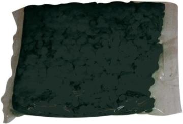 Konfetti: Papier-Konfetti, schwarz, schwer entflammbar, 1 kg - 2