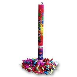 Konfetti-Shooter: Konfettikanone, 7 m Reichweite, 60 cm Länge - 1
