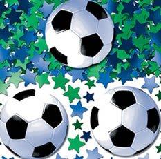 Konfetti: Streudeko, Fußball und Sterne, 14 g - 1