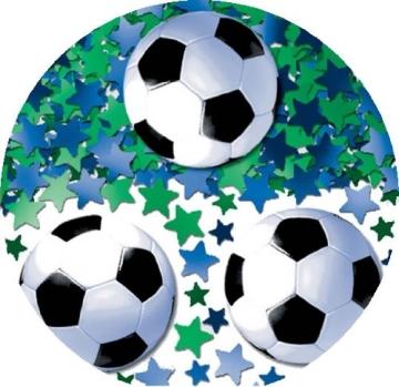 Konfetti: Streudeko, Fußball und Sterne, 14 g - 2