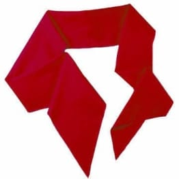 Kostüm-Accessoire: Schärpe, rot, ca. 1,80 m - 1