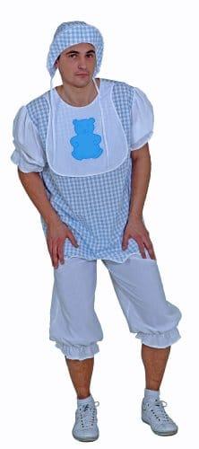 Kostüm Baby Boy: Oberteil, Hose, Lätzchen, Mütze - 1