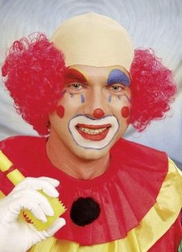 Kostüm: Clownglatze - 1