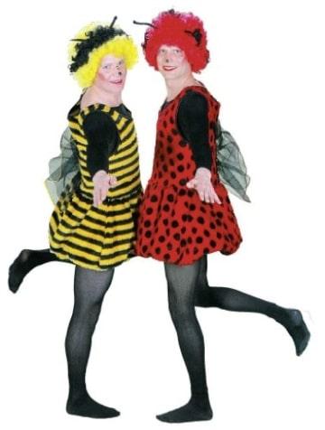 Kostüm: flotter Käfer, Größe 42 und 54 - 1