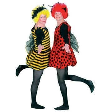 Kostüm: kesse Biene, Größe 42 und 54 - 1