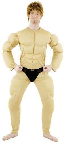 Kostüm: Muskelbody, Overall, Einheitsgröße - 1