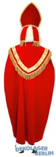 Kostüm: Sankt Nikolaus mit Mitra, Umhang, Gewand und Stola - 2