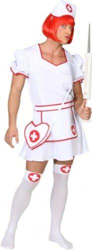 Krankenschwester für Herren : Kleid und Haube - 1