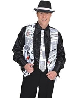 """Krawatte """"Newstime"""", Nachrichten-Design - 1"""