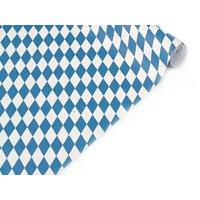 Kreppband: 10 m x 50 cm, Bayern-Rauten - 1