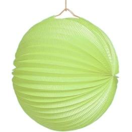Lampion, 25 cm Durchmesser, pastellgrün - 1