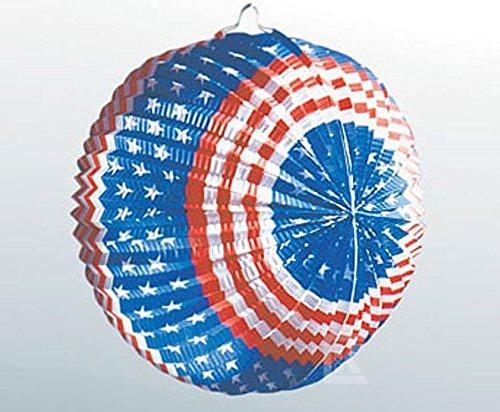 Party Deko 24 : lampion usa stars and stripes 24 cm party deko ~ Watch28wear.com Haus und Dekorationen