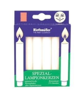 Lampionkerzen, 2,5 Stunden Brenndauer, 6er-Pack - 1