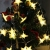 Led Lichterkette Sterne 30er Set batterienbetrieben für Weihnachten Deko und Hochzeit warm weiß 2