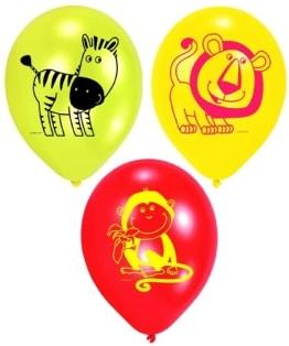 "Luftballon: Luftballons ""Safari"", 6er-Pack - 1"