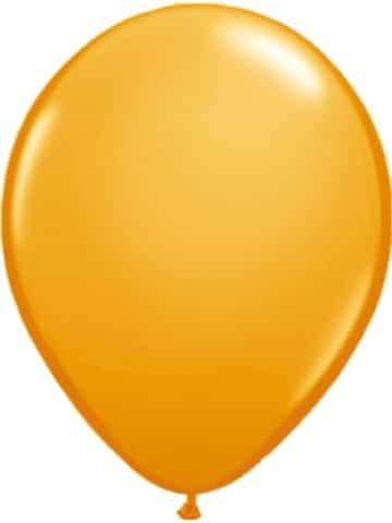 Luftballons, 10 Stück, orange, 65 – 75 cm - 1