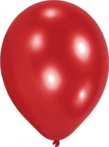 Luftballons, 10 Stück, rot, 65 – 75 cm - 1
