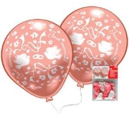 Luftballons: edel bedruckte Hochzeitsballons, 10er-Pack - 1