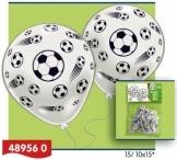 Luftballons: Fußball-Motiv, 8er-Pack - 1