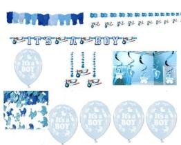 """Luftballons zur Geburt: blau, Schriftzug """"It's A Boy"""", 10er-Pack - 1"""