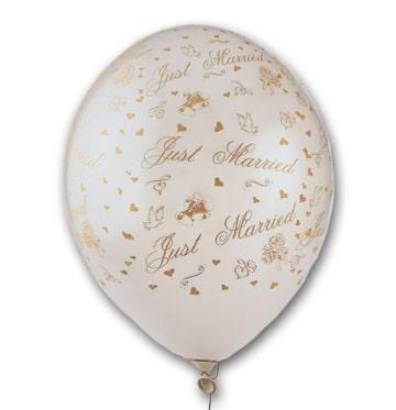 Luftballons zur Hochzeit, hochwertig bedruckt, 50er-Pack - 1