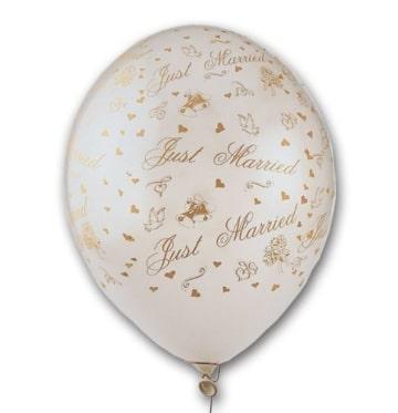 Luftballons zur Hochzeit, hochwertig bedruckt, 50er-Pack - 2