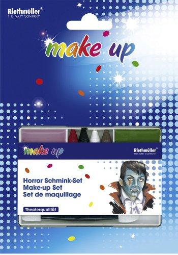 Make-up: Halloween-Schminke, verschiedene Farben - 1