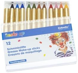 Make-up: Schminkstifte, verschiedene Farben, 12er-Pack - 1