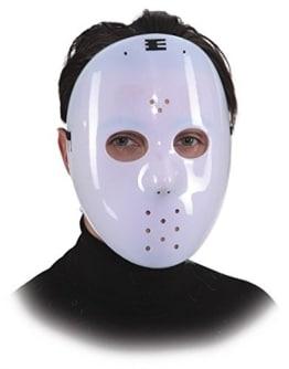 """Maske: Horrormaske """"Menschenfresser"""", weiß - 1"""
