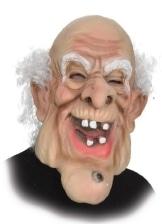 Maske: Riesenmaske, alter Mann - 1
