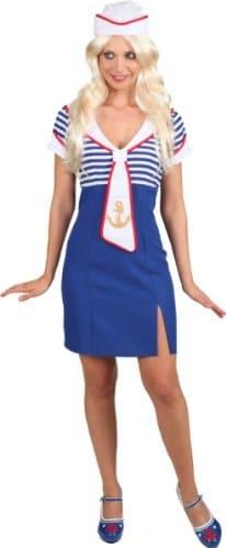 Matrosenkleid Ahoi : Kleid und Mütze - 1