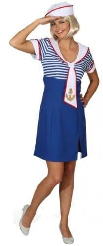 Matrosenkleid Ahoi : Kleid und Mütze - 2