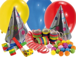 Mini-Party-Hütchen, sortiert, 50er-Karton - 1