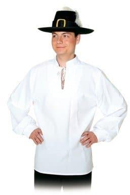Mittelalterhemd weiß - 1