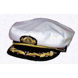 Mütze: Kapitänsmütze, Deluxe-Version, verschiedene Größen - 1