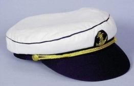 Mütze: Kapitänsmütze, mit Anker-Emblem, verschiedene Größen - 1