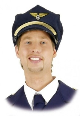 Mütze: Kopfbedeckung für einen Flugkapitän - 1