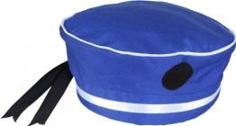 """Mütze: Marine-Mütze, Aufdruck """"Marine"""", blau, Kopfweite 56 bis 60 - 1"""