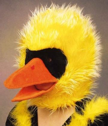 Mütze: Tiermaske, Vogel - 2