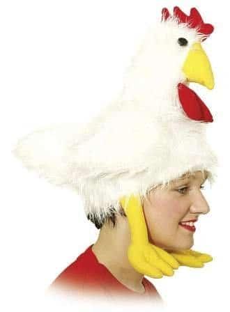 Mütze: Tiermütze, Huhn - 1