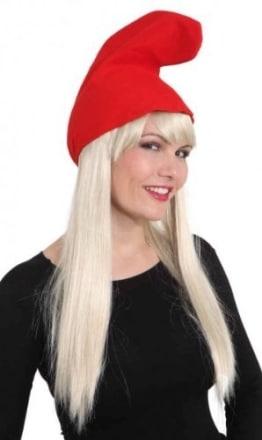 Mütze: Wichtelmütze, rot - 1