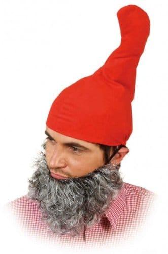 Mütze: Zipfelmütze, rot - 1