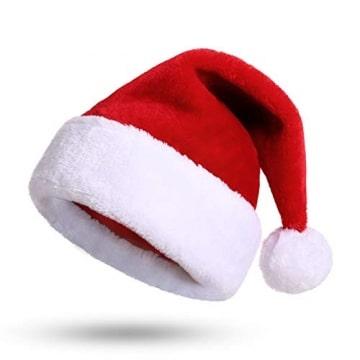 Nikolausmütze kuschelweich und hochwertig Santa Mütze Kinder und Erwachsene 1