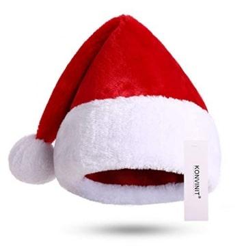 Nikolausmütze kuschelweich und hochwertig Santa Mütze Kinder und Erwachsene 4