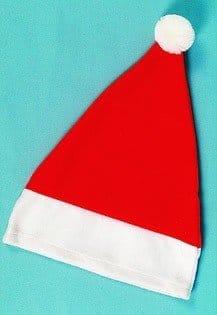 Nikolausmütze, rote Mütze in Basisausstattung - 1