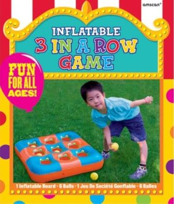 Outdoor-Spielzeug: 3 in einer Reihe, aufblasbar, 68 x 68 cm - 2