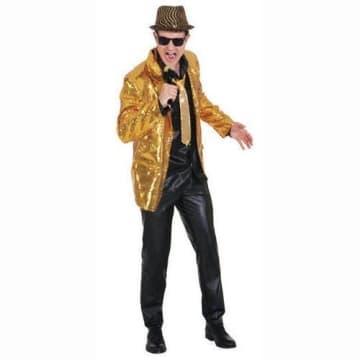 Pailletten Show Jacket gold - 1