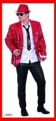 Pailletten Show Jacket rot - 1