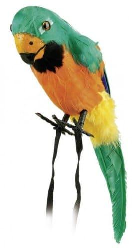Papagei: Ara mit Federn, Deko, ca. 40 cm - 2