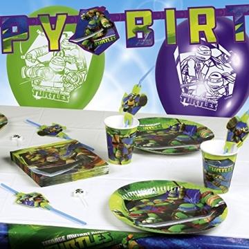 "Pappteller: Party-Teller, ""Teenage Mutant Ninja Turtles"", 23 cm, 8er-Pack - 2"